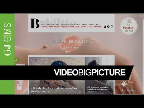 G+J e|MS | Digital Special Solutions | Weleda | Video BigPicture | Rich Media Ad Special