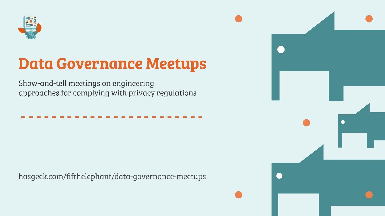 Data Governance Meetups