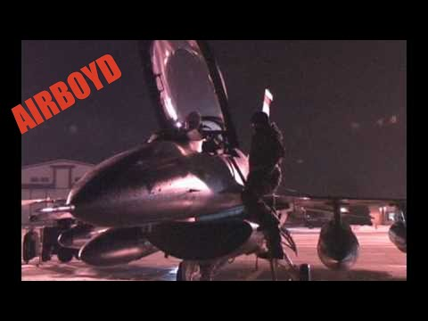 Badgers Off To Baghdad - 115th Fighter Wing ANG F-16