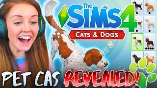 🐶🐱create a pet revealed?🐶🐱 breeds cas traits more 🙌😊 the sims 4 cats dogs