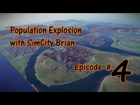 SimCity 1 Million Population Walk Through - Episode #4