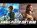 Link & Aloy Slap EA, Single-player Isn't DEAD! MHW DOESN'T Stop Switch Sales in Japan | NewsEssence
