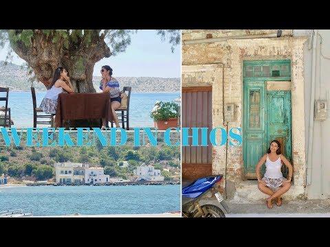 WEEKEND IN CHIOS / GREECE VLOG