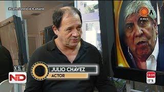 """Julio Chavez, un """"tigre"""" en el Camarín"""