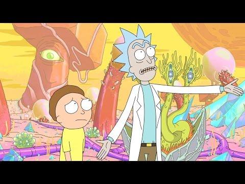 Rick and Morty  Dan Harmon, Justin Roiland, Spencer Grammer Talk Season 2  Comic Con 2014