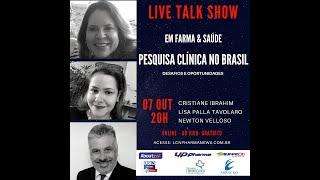 TALK SHOW - 07 OUTUBRO 2020 - PESQUISA CLÍNICA
