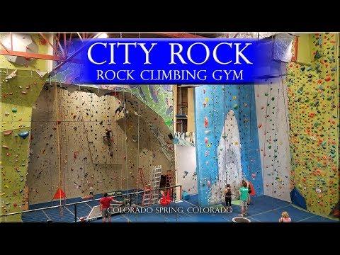 City Rock Colorado Springs Rock Climbing Gym