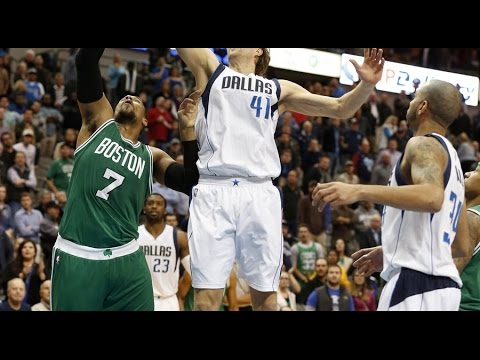 With a Flurry of Shots, Dirk Nowitzki Wraps Up His Time in Dallas