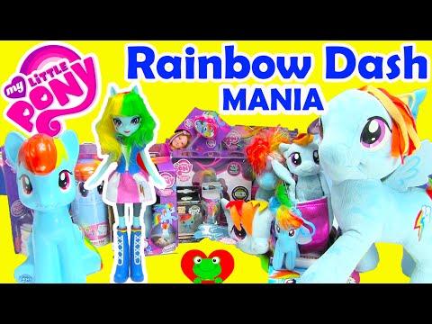 My Little Pony Rainbow Dash Mania