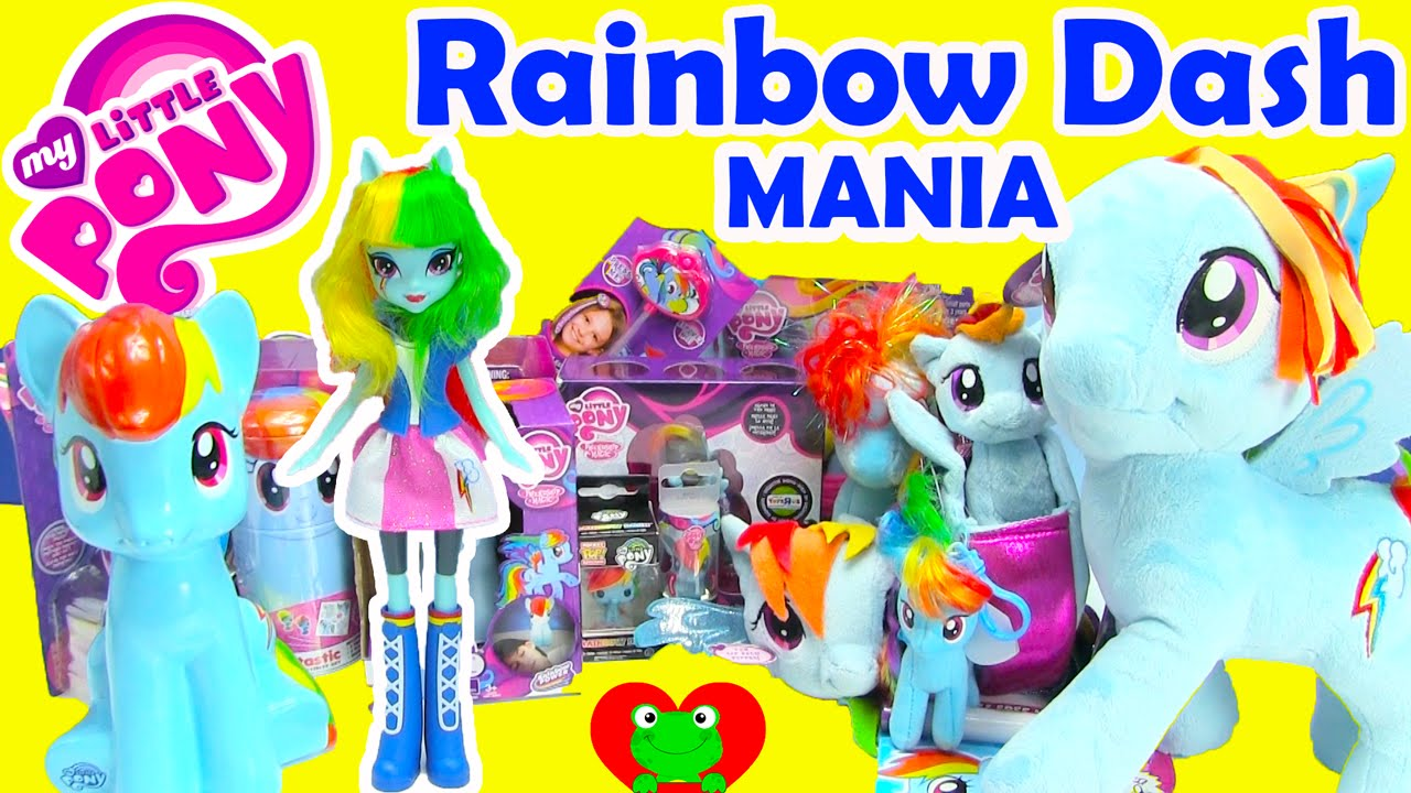 My Little Pony Rainbow Dash Mania - YouTube