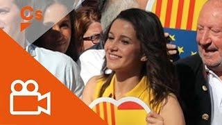 #TotsSomCatalunya Manifestación histórica en Barcelona. Inés Arrimadas