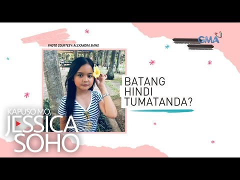 Kapuso Mo Jessica Soho: Batang hindi tumatanda?