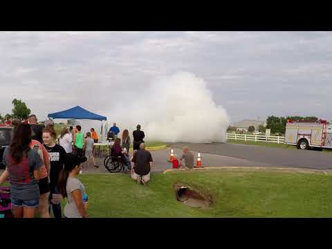 Fort Gibson 2018 Burnout Competition