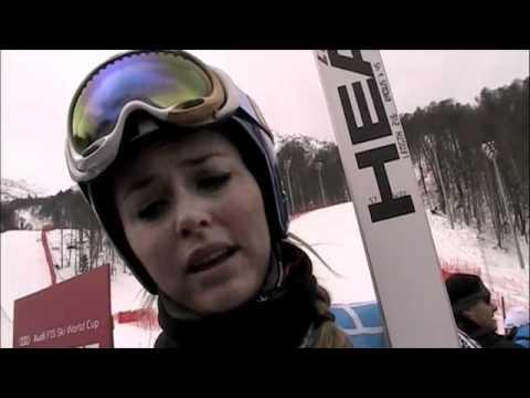 Sochi women's DH course
