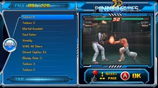 3D Pandora Games With 100 3D Games and 2100 Arcade Games