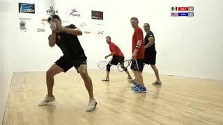 2018 Racquetball World Championships - Men's Doubles Final - MEX vs USA