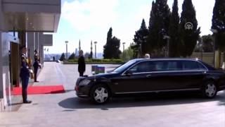 Prezident İlham Əliyev'in korteci 2019