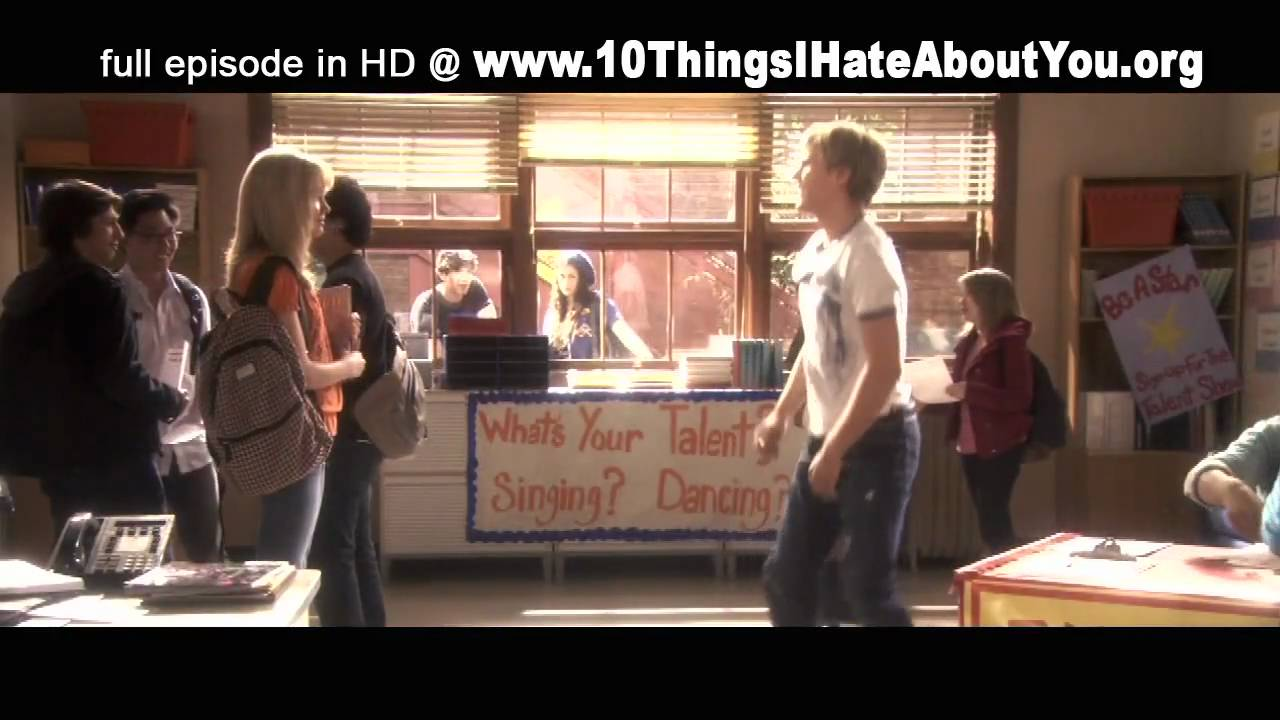 Download [HD] 10 Things I Hate About You Season 1 Episode 15 (Part 1 of 4) The Winner Takes It All
