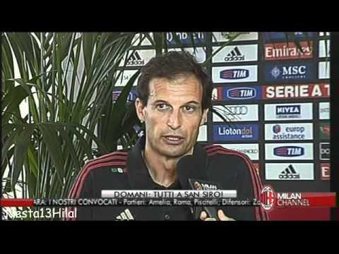 Allegri - Next season we will have Montolivo 12-5-2012