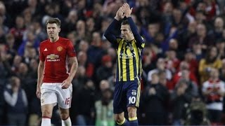 Van Persie scores vs Manchester United and the fans applauding for him 20/10/2016 | EM9