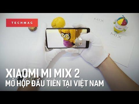 Xiaomi Mi Mix 2: Mở hộp đầu tiên tại Việt Nam