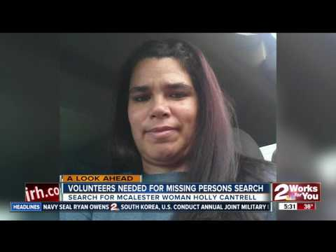 Group asking for volunteers in search for missing Pittsburg County woman