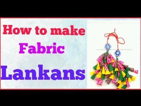 how to make fabric tassels