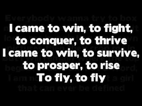 Nicki Minaj   Fly ft  Rihanna Lyrics