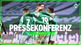 SV Werder Bremen - Eintracht Frankfurt 2:1 | Pressekonferenz mit Florian Kohfeldt & Adi Hütter