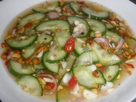 How To Make Delicious Cucumber Sauce ( Asian Side Dish Example: Fishcake Etc.)