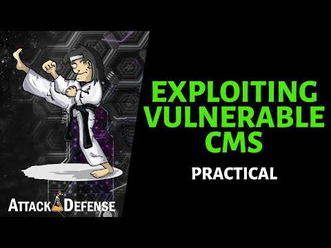 Vulnerable CMS Exploitation with Metasploit - Practical Penetration Testing thumbnail