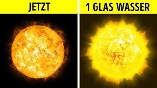 Was, wenn du ein Glas Wasser auf die Sonne gießen würdest?