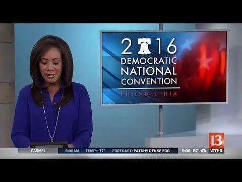 DNC breakfast and night one of convention