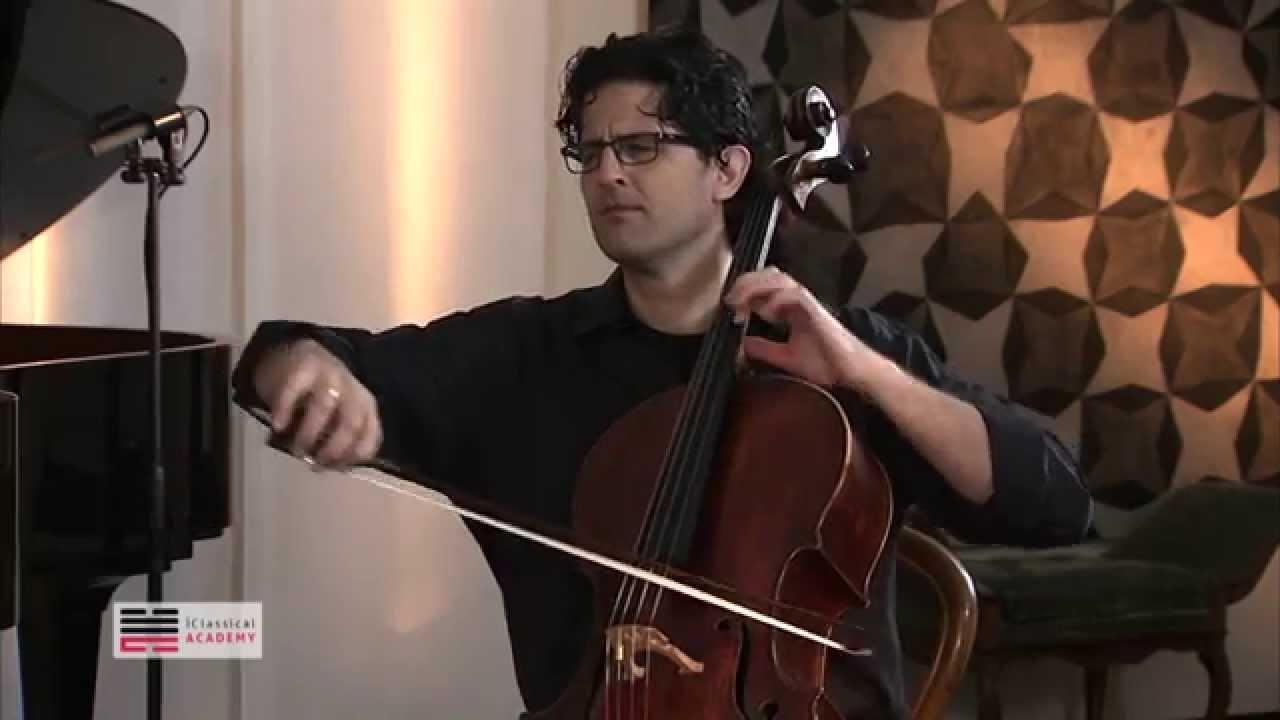 Cello Masterclass Amit Peled Cello - Emotional research ...