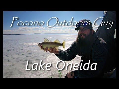 Oneida Lake Walleye Ice Fishing