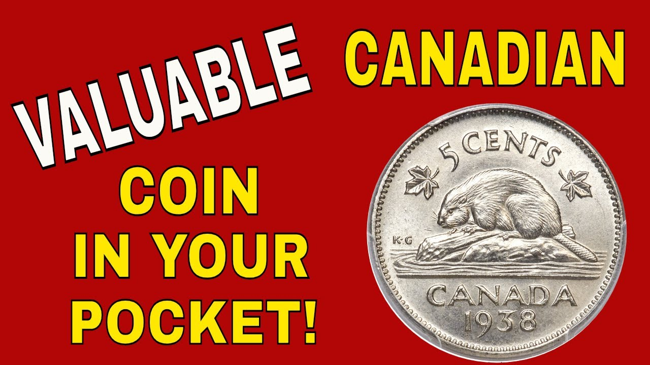 Check your change for this rare Canadian 5 cent coins worth money! Foreign  coins o look for!