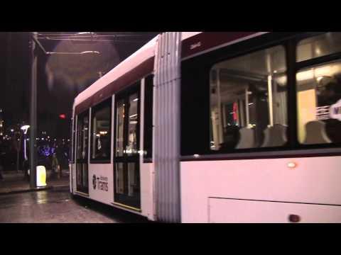 Edinburgh Trams, Scotland - 3rd December, 2014