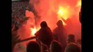 MSV Duisburg - Schalke 04  08.08.2015 | Schalker Pyroshow| DFB-Pokal