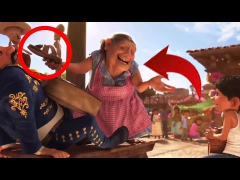 9 Amazing Hidden Messages In Coco Film Disney Pixar Youtube
