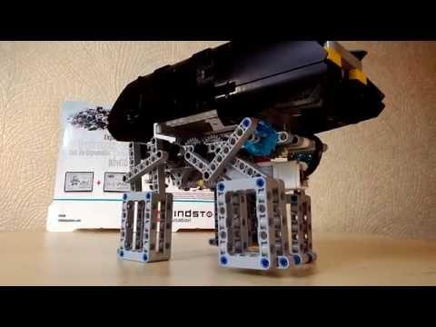 Улучшенный 4-х ногий робот из LEGO [45544]+[45560]
