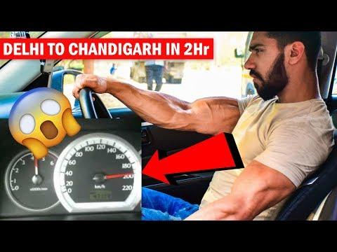 Delhi To Chandigarh in 2 hr 🚘