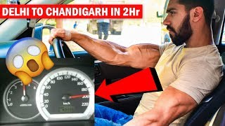 Delhi To Chandigarh in 2 hr 🚘