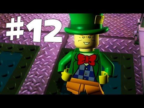 Road to Arkham Knight - Lego Batman Walkthrough - Part 12 - Mad Hatter Boss Battle