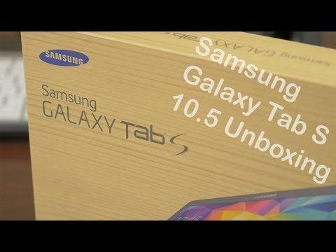 Samsung Galaxy Tab S 10.5 Unboxing! (4K)