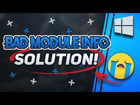 Bad Module Info Fix - [2020]
