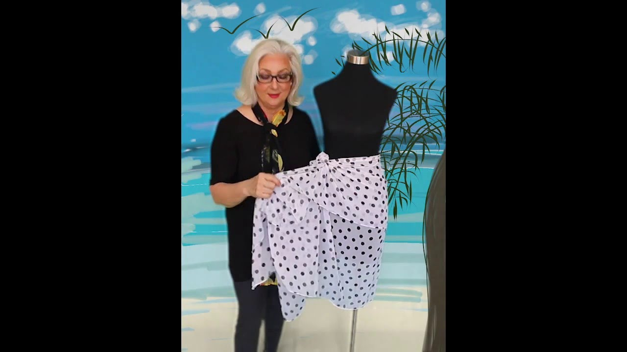 7a07cb9e67fcd How To Tie A Sarong Skirt - YouTube
