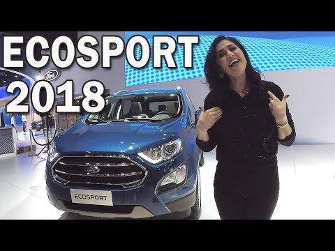 Ford EcoSport 2018 em Detalhes | Salão de Buenos Aires 2017