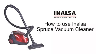 How to use Inalsa Spruce 1200Watt Dry Vacuum Cleaner in Hindi Deep Cleaning for complete home
