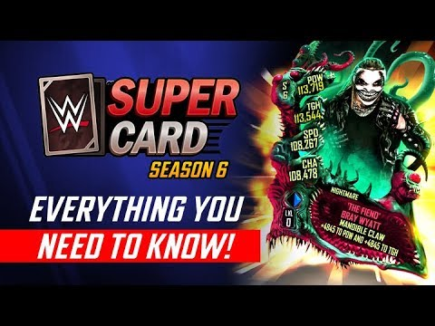 WWE SuperCard Season 6: All Updates + Gameplay! (Fortifying Pros & More!)
