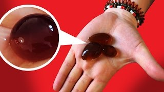 CRASH TEST : bulle comestible de Coca-Cola